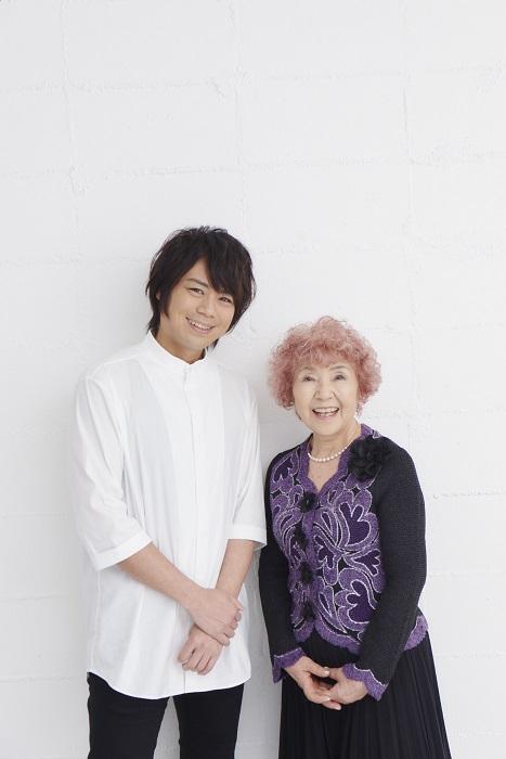 SPOT発起人の野村道子さん(右)と浪川大輔さん(左)