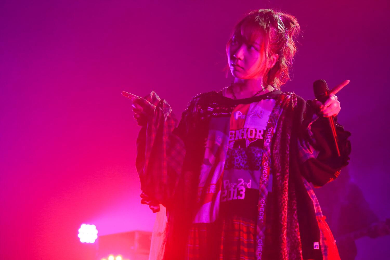 夏川椎菜 Zepp Live Tour 2020-2021 Pre-2nd seigura.com 独占カット